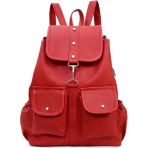 AL NOONE STAR backpacks For Collage Girls Waterproof Bags (Red) 25 L  Backpack 84889ad336d70
