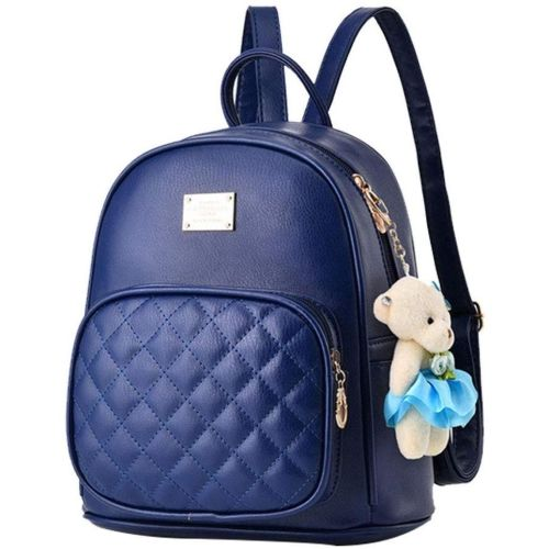 New Eva blue teddy Backpack
