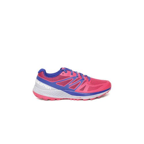 374c177560fc Buy Salomon Women Pink   Blue Sense Escape Running Shoes online ...