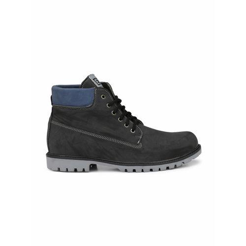 Eego Italy Men Black Flat Boots