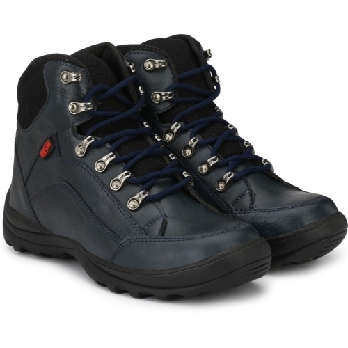 cf8f221ec5a Buy Manslam Synthetic Leather Safety Boots For Men online | Looksgud.in