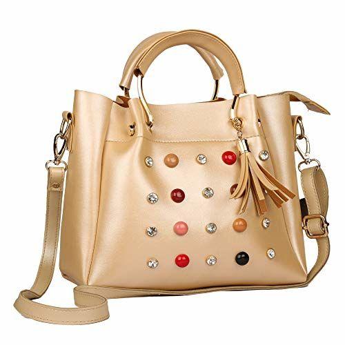 Roseberries women sling bags Gold Color