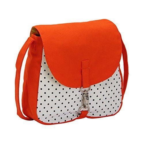 Vivinkaa Women's Sling Bag (Orange)