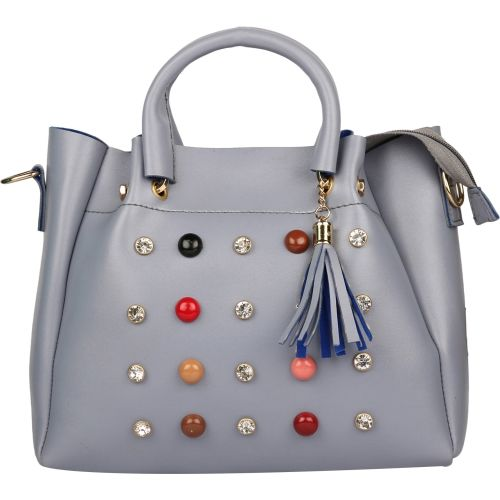 Batterflye Women Casual Grey PU Sling Bag