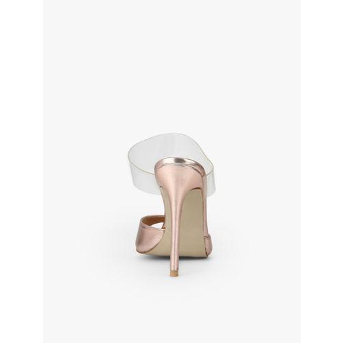 Carlton London Rose Gold Stilettos