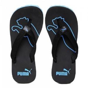 Puma Colaba Men's Blue and Black Slippers Flip Flops