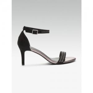 DOROTHY PERKINS Women Black Embellished Heels