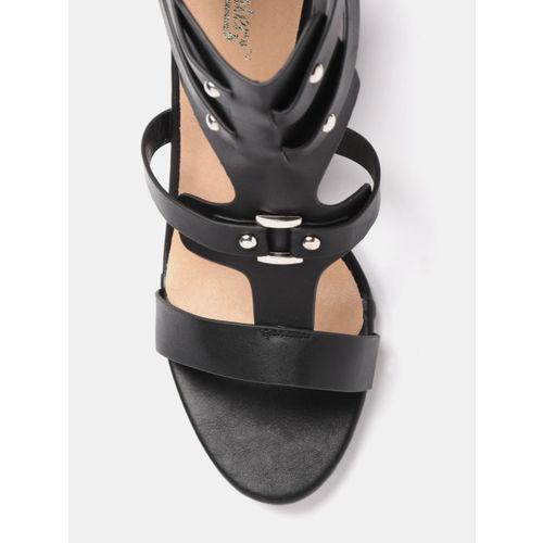 Roadster Women Black Solid Block Heels