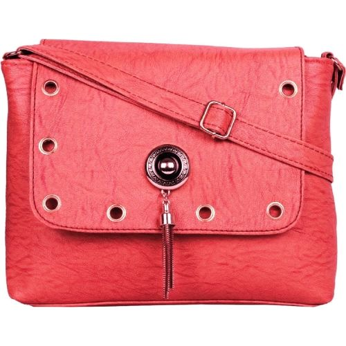 SAHAL FASHION Women Evening/Party Pink PU Sling Bag