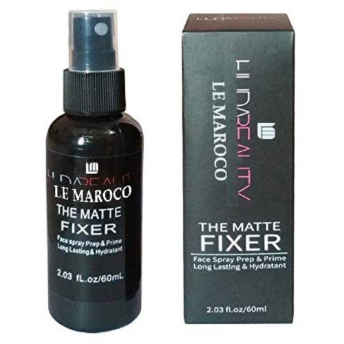 LE MAROCO THE MATTE MAKE UP FIXER FACE SPRAY & PRIME LONG LASTING, 100ML Highlighter