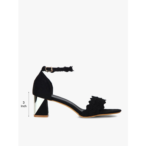Jove Black Sandals