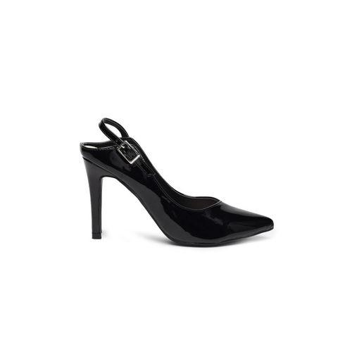 Catwalk Women Black Solid Heels