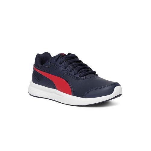 Puma Escaper Peacoat & Ribbon Red Running Shoes