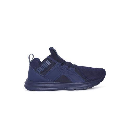 Puma Kids Navy Blue Enzo Jr Sneakers