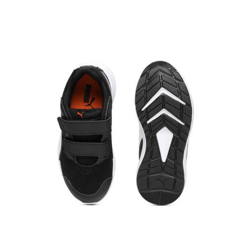Puma Kids Black Escaper Mesh V PS Sneakers
