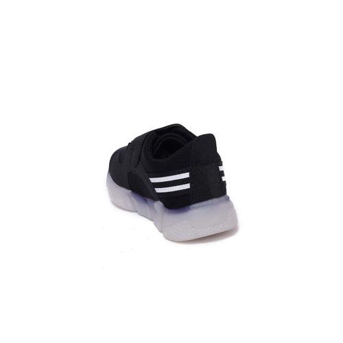 Walktrendy Unisex Black Sneakers