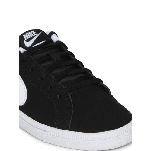 Nike Boys Black Solid Court Royale (GS) Sneakers