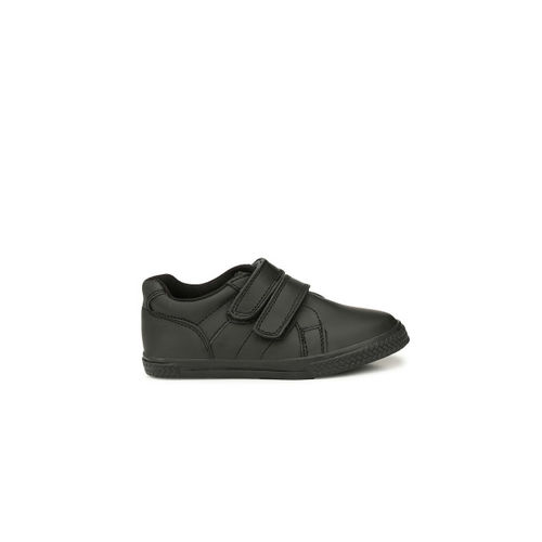 TUSKEY Boys Black Sneakers