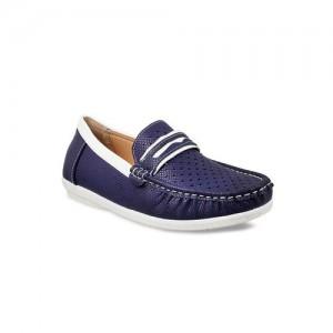 Mochi Boys Blue Loafers