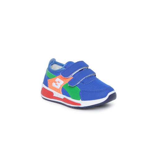 Kittens Boys Blue & Red Sneakers