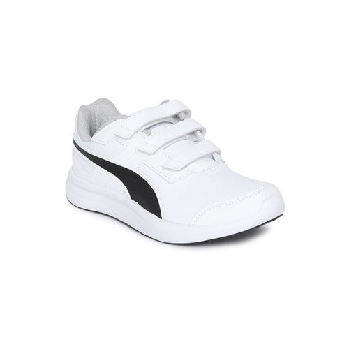 5084d633b79 Buy Puma Unisex White Escaper SL V Jr Sneakers online | Looksgud.in