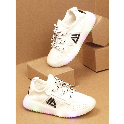 Walktrendy Unisex White Sneakers