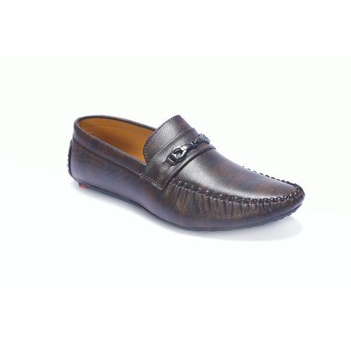 Shoebook Men Brown Loafers