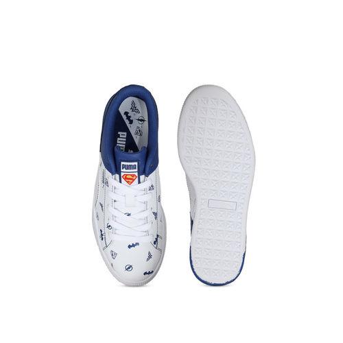 Puma Boys White Sneakers