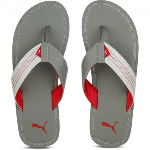 43cc16b4aa6b Puma Men Black Printed Breeze One8 IDP Thong Flip-Flops. ₹1699 2 Stores.  Puma Ketava Red Grey Slippers