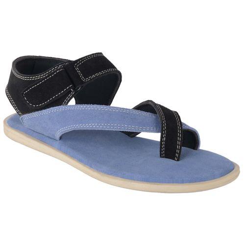 b8b8f7c0d59 Buy Port Men s Blue Leather New Look Casual Sandal online