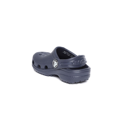 Crocs Unisex Navy Blue Solid Clogs