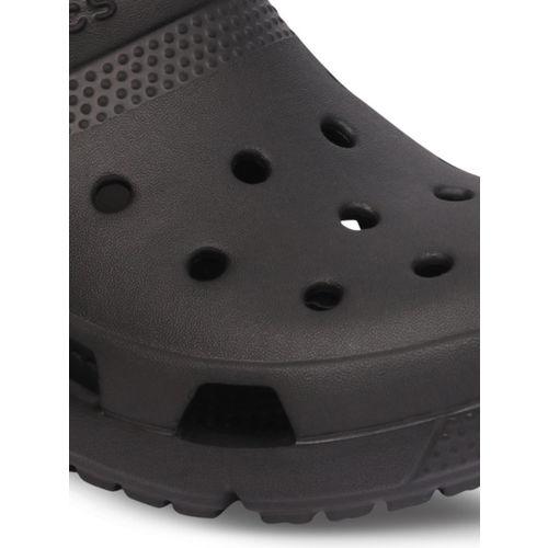 Crocs Boys Black Solid Clogs