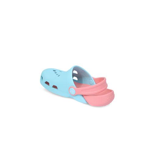 Crocs Boys Blue & Pink Colourblocked Clogs