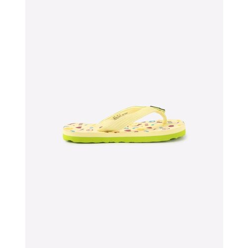 Puma Boys & Girls Slip On Slipper Flip Flop(Yellow)