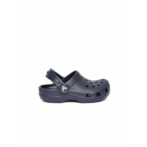 Crocs Kids Navy Blue Classic Clogs