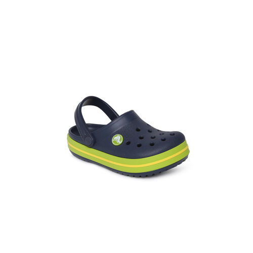Crocs Kids Navy Blue Clogs