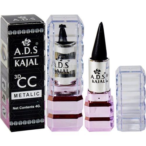 ADS 3D CC Metalic Kajal With 1 More Kajal