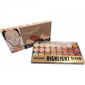 Mars Contour Bronze Highlight Palette Concealer 24 shade (Beige)