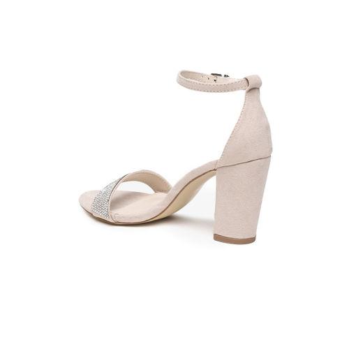 Catwalk Women Beige Solid Heels