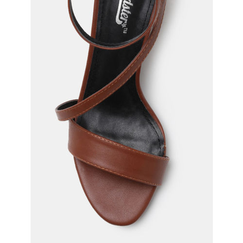 Roadster Women Brown Solid Heels