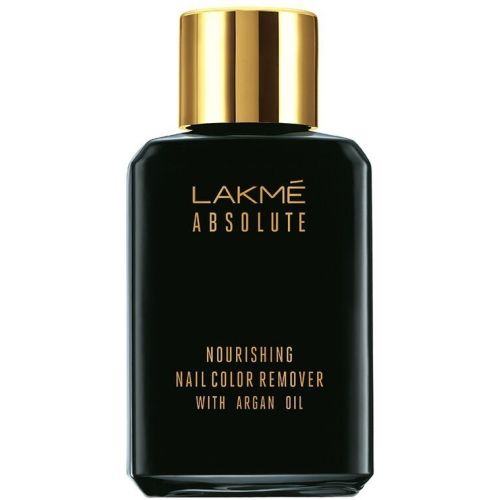 Lakme Absolute Nourishing Nail Color Remover with Argan Oil