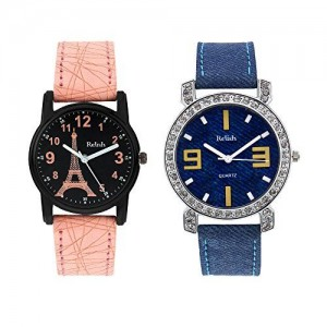 Relish Analog Multi-Colour Dial Women's Watch-RE-L002COM