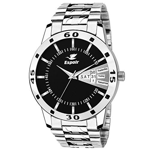 Espoir Analog Black Day and Date Dial Men's Watch - SamBlack0507