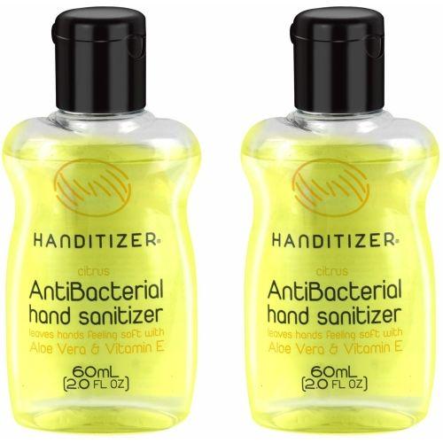 Handitizer Hand Sanitizer Citrus Pack of 2