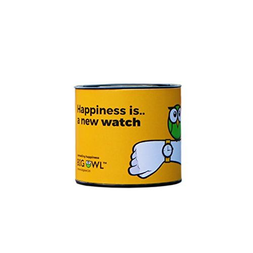 Bigowl Analogue Round White Dial Watch For Men & Women_200Co20-Blu-Tea