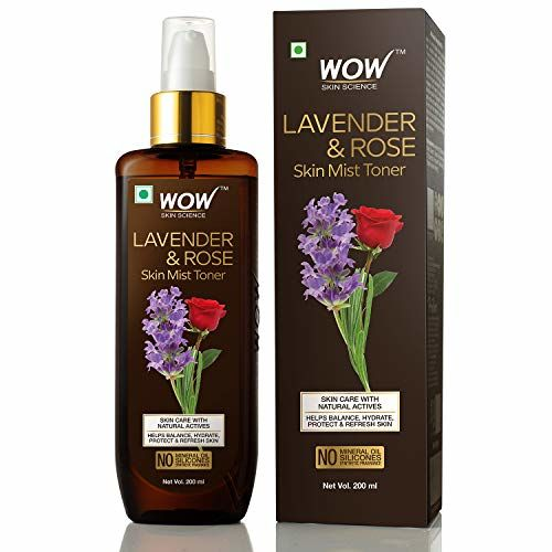 Wow Skin Science Lavender & Rose Skin Mist Toner 200 ml