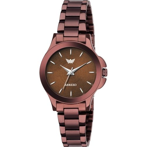 Abrexo Abx8061-BR BROWN Watch - For Women