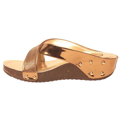 Msc Women'S Gold Wedges