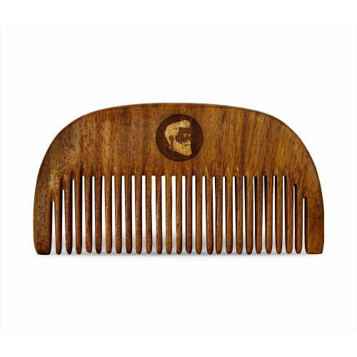 Beardo Compact Wooden Comb