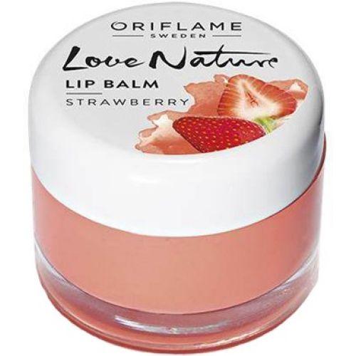 Oriflame Sweden Love Nature Lip Balm - Cherry Strawberry